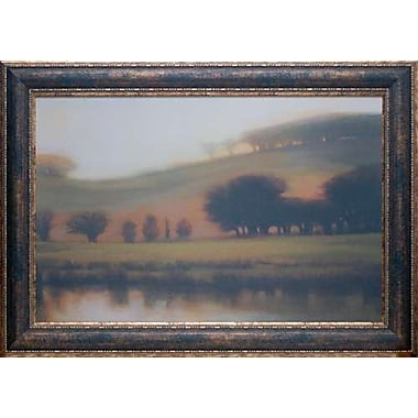 North American Art 'April Morning' by Lynne Windsor Framed Painting Print