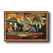 RAM Game Room Game Room 'Game of Fate' Framed Vintage Advertisement