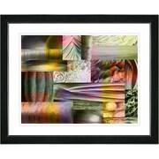 Studio Works Modern ''Veggie Mix - II'' by Zhee Singer Framed Graphic Art; Black