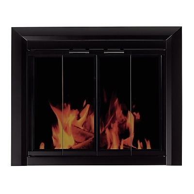 Pleasant Hearth Clairmont Fireplace Screen and Bi-Fold