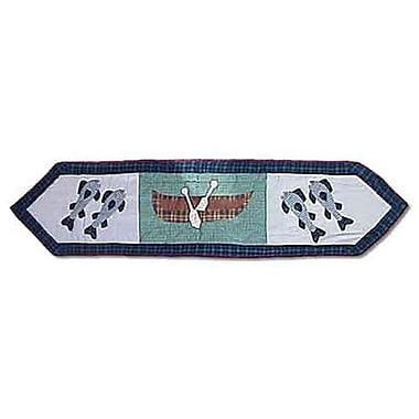 Patch Magic Cabin Table Runner; 72'' W x 16'' L