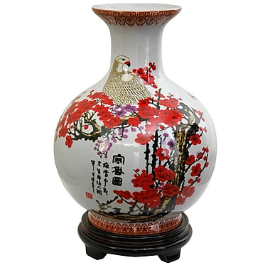 Oriental Furniture Cherry Blossom Vase