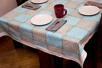 Sustainable Threads Horizon Tablecloth; 43'' W x 43'' L