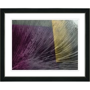 Studio Works Modern ''Berry Tango'' by Zhee Singer Framed Graphic Art in Purple; Black