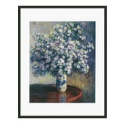 Frames By Mail 'Asters' by Claude Monet Framed Painting Print