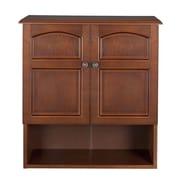 Elegant Home Fashions Martha 22.25'' W x 25'' H Wall Mounted Cabinet