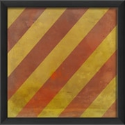 The Artwork Factory Signal Flag Y Framed Graphic Art