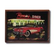 RAM Game Room Game Room Corvette Picture Framed Vintage Advertisement