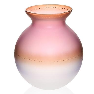Womar Glass Dipped Easter Egg Vase