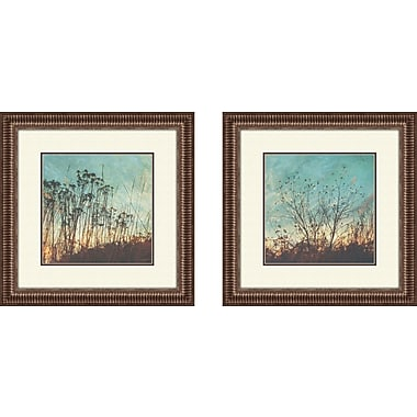 PTM Images Wild Grass Framed Photographic Print (Set of 2)