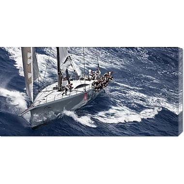 Global Gallery 'Caribbean 600' by Carlo Borlenghi Photographic Print on Wrapped Canvas