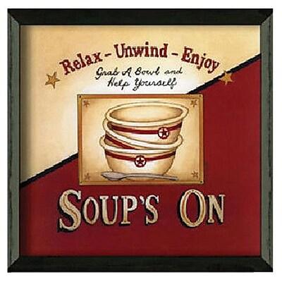 Timeless Frames Soup's On by Linda Spivey Framed Vintage Advertisement