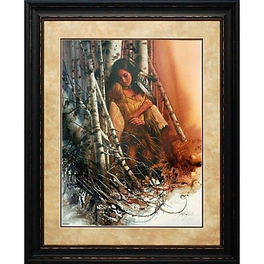 North American Art 'Quiet Refuge' by Lee Bogle Framed Painting Print