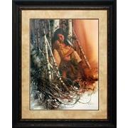 North American Art 'Quiet Refuge' by Lee Bogle Framed Painting Print