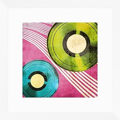 PTM Images Disc 2 Piece Framed Graphic Art Set