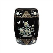 Oriental Furniture Chinese Classic Garden Stool