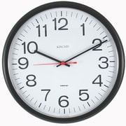 Kincaid Clocks 13.5'' Always Set Wall Clock