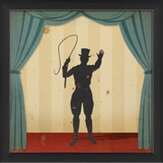 The Artwork Factory Stage Circus Performers Ringleader Framed Graphic Art