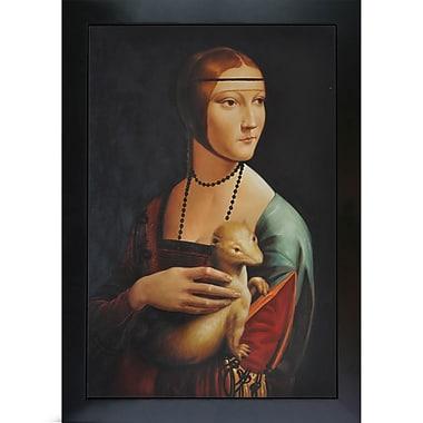 Tori Home Lady by Leonardo da Vinci Framed Painting Print