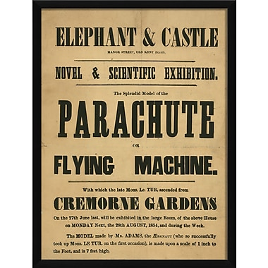 The Artwork Factory Elephant and Castle Novel and Scientific Exhibition Framed Textual Art