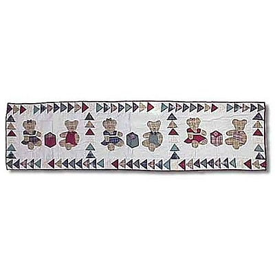 Patch Magic Brown Bear Table Runner