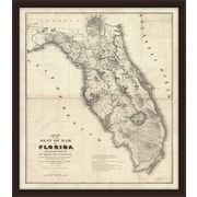 Melissa Van Hise Florida Framed Graphic Art