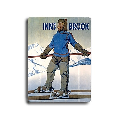 Artehouse LLC Inns Brook Vintage Advertisement Plaque