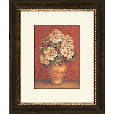 PTM Images Tuscan Hydrangeas B Framed Painting Print