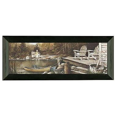 Timeless Frames Lounging by John Rossini Framed Painting Print