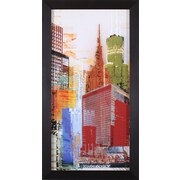 Art Effects Urban Style I by Noah Li-Leger Framed Graphic Art