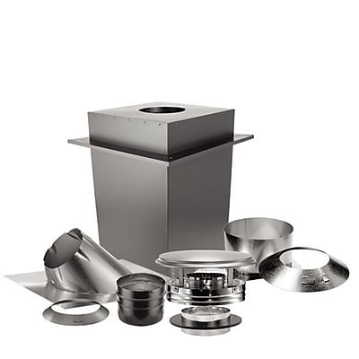 US Stove Duravent 7 Piece Steel Venting Kit