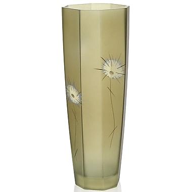 Womar Glass Fuzzy Dandelion Vase