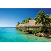 Island Way Outdoor Water Front Photographic Print on Canvas