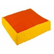 Wesco NA Cocoon Kids Floor Cushion Cover; Yellow / Orange