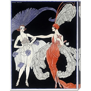 Global Gallery 'The Purchase' by Georges Barbier Painting Print on Wrapped Canvas
