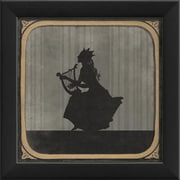 The Artwork Factory The Lyre Framed Graphic Art