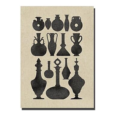 Melissa Van Hise Vases II Graphic Art on Wrapped Canvas