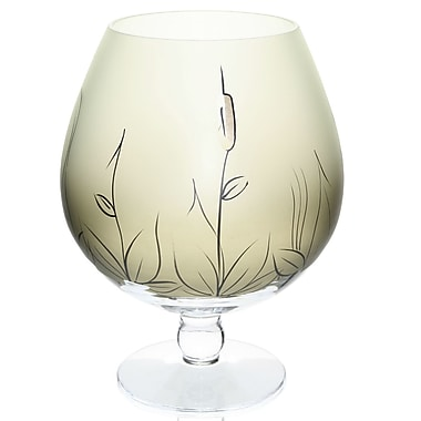 Womar Glass Cat Tail Table Vase