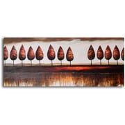 My Art Outlet Trees in Good Order' Painting on Wrapped Canvas