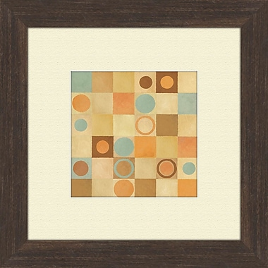 PTM Images Tic Tac Dots B Framed Painting Print