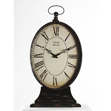 Zentique Tall Paris Table Clock