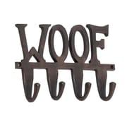 Woodland Imports Aluminum ''Woof'' Wall Hook