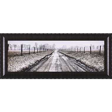 Art Effects Picket Path by Todd Ridge Framed Photographic Print
