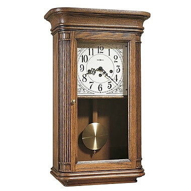 Howard Miller Chiming Key-Wound Sandringham Wall Clock