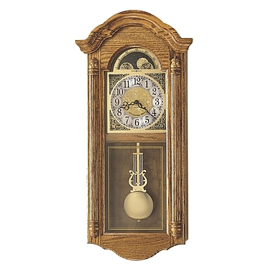 Howard Miller Chiming Quartz Fenton Wall Clock