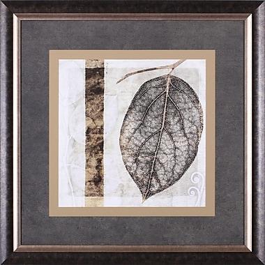 Art Effects Fall Leaves I by Christine Zalewski Framed Painting Print