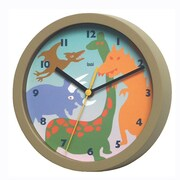Bai Design 8'' Dinosaurs Children's Wall Clock