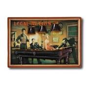 RAM Game Room Game Room 'Legal Action' Framed Vintage Advertisement