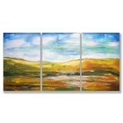 Stupell Industries Painted Horizons Triptych 3 Piece Painting Print Wall Plaque Set