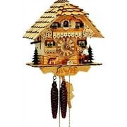 Schneider Chalet Cuckoo Wall Clock; Natural